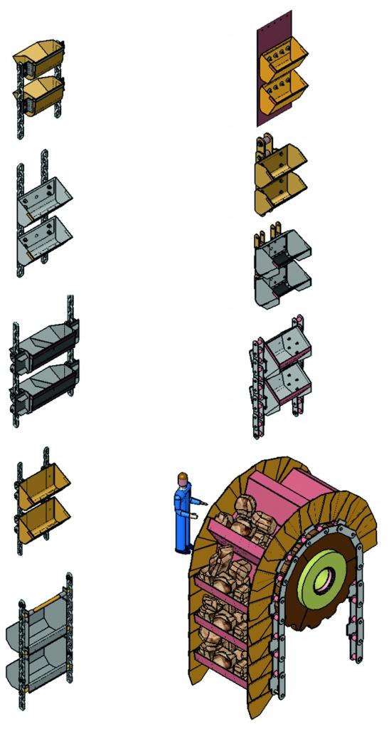 Ковшовые элеваторы типы конвейер для прачечной